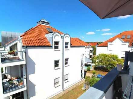 Schöne 3 Zimmer Dachgeschosswohnung mit Tiefgaragenstellplatz in Rauenberg!