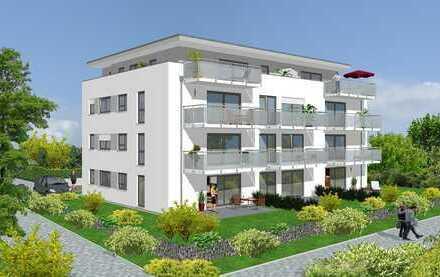 Erstbezug mit EBK und Balkon: stilvolle 2-Zimmer-Erdgeschosswohnung in Renningen