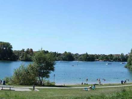 Ideal für Wassersportler, nah am Rheinauer See, Sven-Hedin-Weg, sehr großzügige 2Z - DG-Wohnung