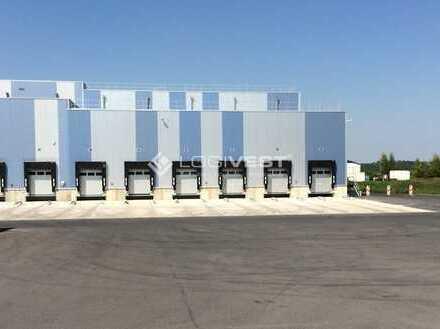 Neubau einer multifunktionalen Lagerhalle direkt an der A9
