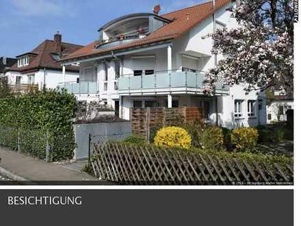 Freiwerdende 2,5 Zimmer Maisonette-Wohnung mit Garten und Balkon in Stuttgart-Möhringen