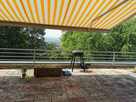 Exklusive 5-Zimmer-Penthouse-Wohnung mit 100m2 Terrasse und EBK in heidelberg