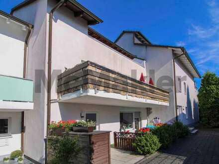Gemütliches Zuhause oder Kapitalanlage: Gepflegte 4-Zi.-DG-Whg. mit Balkon und Garage