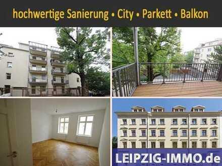 3 Zimmer im Zentrum-Süd **EBK* Balkon * Fußbodenheizung im Bad * Echtholzparkett * Lift
