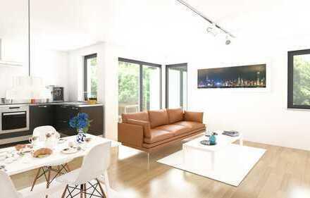 Whg. 1 / 19 - Erdgeschoss Wohnung - 86 qm - strukturiert - frech - pflegeleichter Garten