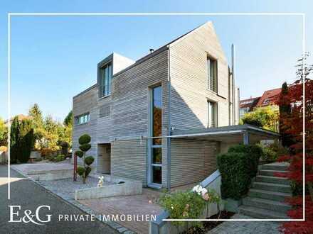 Modernes, freistehendes Architektenhaus in attraktiver Lage auf den Fildern