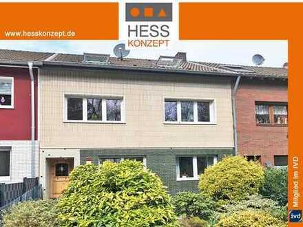 EXPOSÉ ANFORDERN: Reihenhaus in Hürth, als Kapitalanlage zur 24,5fachen Jahreskaltmiete.