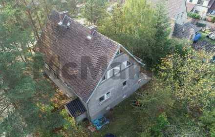 Tatkräftige Macher gesucht: EFH mit großer Terrasse und Sanierungsbedarf