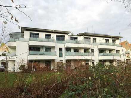 Exklusive topgelegene Erdgeschosswohnung mit Pkw-Stellplatz und herrlicher Südterrasse/Garten