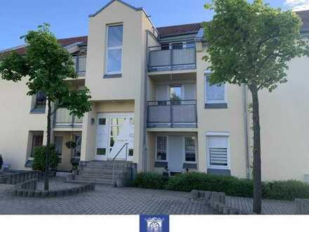 Gepflegte Wohnung mit großem Balkon und EBK in schöner gepflegter Wohnanlage!