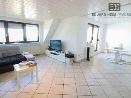 ++ großzügige Maisonettewohnung mit Dachterrasse/Garage/Stellplatz - in Bobenheim-Roxheim ++