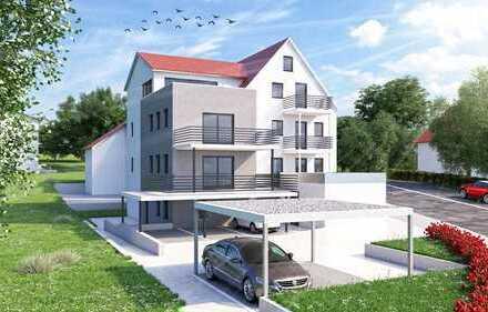 Erstbezug - Helle 4 Zimmer-Eigentumswohnung mit großem Balkon