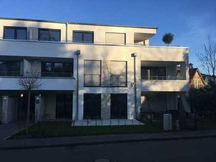 Neubauwohnung mit Einbauküche und Garten: attraktive 2-Zimmer-Erdgeschosswohnung in Ratingen-Hösel