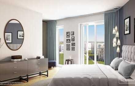 Attraktive 3-Zimmer-Wohnung mit gehobener Ausstattung und Loggia in grüner Umgebung!