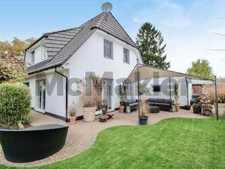 Zwei für eins: Einfamilienhaus mit großem Garten und kleiner Kapitalanlage auf einem Flurstück