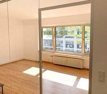 Neue Büroräume in Top-Lage mit Eichen-Parkett (18 qm + 40 qm Gemeinschaftsräume)