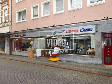 Großzügiges Ladenlokal mit Büro und Lagerräumen in Horster Einkaufsstraße