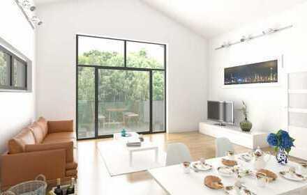 RESERVIERT - PENTHOUSE über 2 Etagen - hell - PLUS 22 qm Dachterrasse - plus Galerie