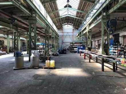 Produktions-/Lagerhalle, ca. 1.242 m², mit Kranbahn im Industriegebiet in 56564 Neuwied zu vermieten