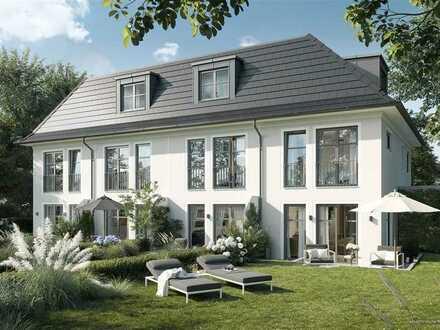 Modernes und stilvolles Stadthaus mit großzügigem Garten