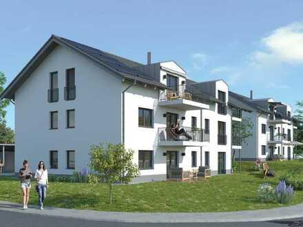 2-Zimmer-DG-Wohnung mit Einbauküche und Balkon in Untersiemau