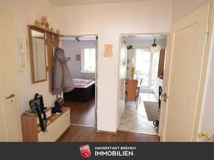 Walle / Gepflegte 2-Zimmer-Wohnung mit ca. 36 m² eigenem Garten