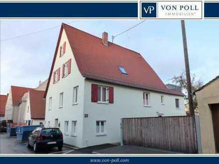 Kapitalanlage oder Selbstbezug: Vermietete 3-Zi.-Etagenwohnung mit Garten in perfekter Altstadtlage