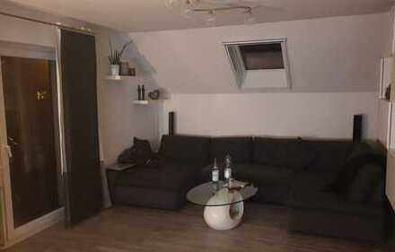 Renovierte 3-Zimmer-DG-Wohnung mit kleinem Balkon und Einbauküche in Donzdorf