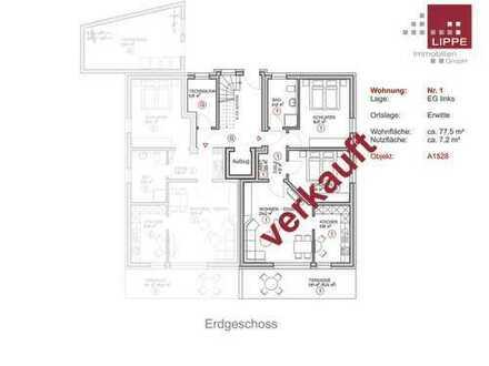 Verkauft! 3-Zimmer-ETW mit Terrasse - Wohnung 1