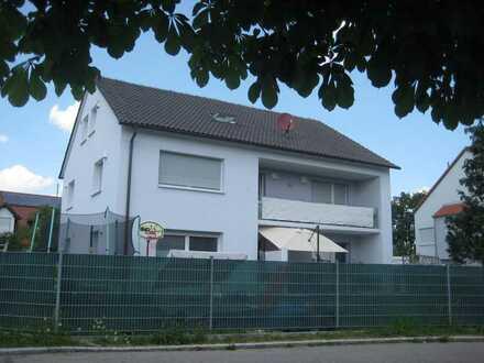 4 ZKB mit eigenem Garten in Langweid wohnen - Nähe Augsburg