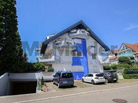 Helles, ruhiges Wohnen: Gepflegte 3-Zi.-Whg. mit großem Balkon und Garage in Böblingen-Dagersheim