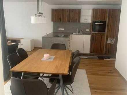 Wohnen in bester Lage: Stilvolle 3-Zimmer-Wohnung mit hochwertiger Einbauküche & Terrasse