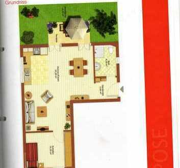 Gepflegte 2-Zimmer-Erdgeschosswohnung mit Terrasse und Einbauküche in Kranzberg