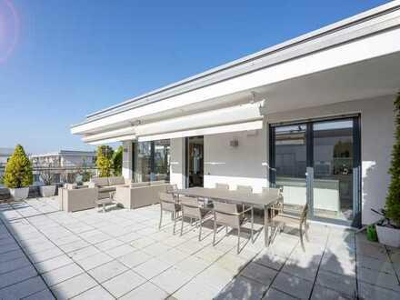 Moderne Penthouse Wohnung mit sonniger Dachterrasse