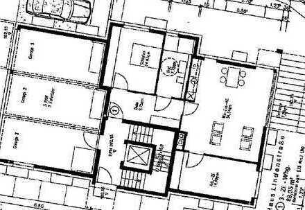 attraktive 3-Zimmer-Erdgeschosswohnung in Mundelsheim
