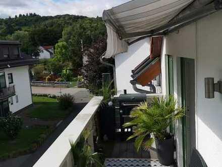 Maisonettewohnung mit Balkon!