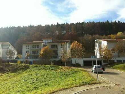 Attraktive 4 Zi.- Wohnung mit Balkon, Tiefgarage, Kellerraum und Blick ins Grüne