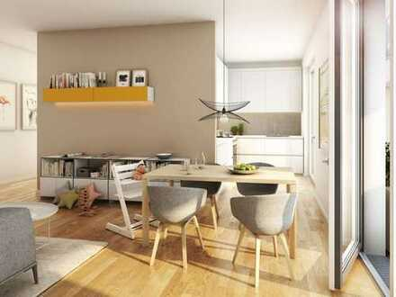 Leben in der Metropole: 3-Zi.-Wohnung mit offener Wohnküche und guter Anbindung