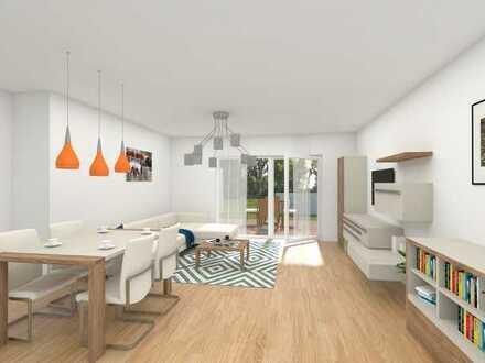 EG - Moderne 3-Zimmer-Neubau-Wohnung mit Gartenanteil in Graben-Neudorf!