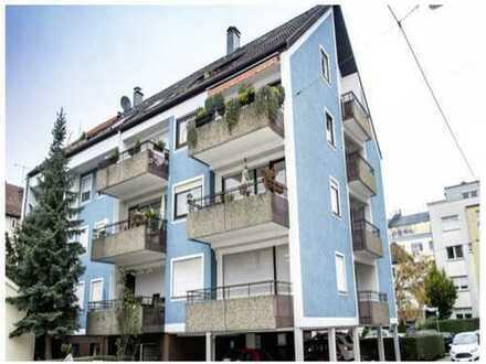 Exklusive, gepflegte 3,5-Zimmer-Hochparterre-Wohnung mit 2 Balkonen und EBK in Stuttgart