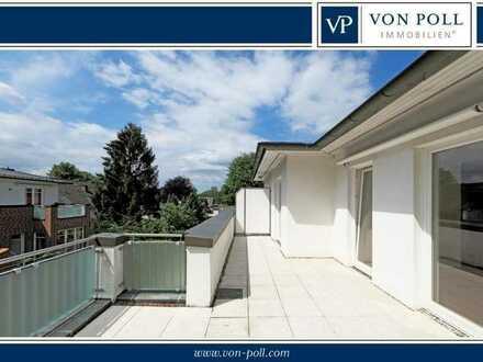 3-Zimmer-Penthouse mit zwei TG-Plätzen im schönen Alt-Osdorf