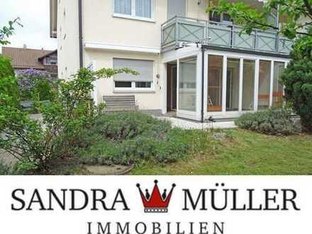 ***Einmalig!*** - 3-Zimmer-Gartenwohnung mit Wintergarten und Garage