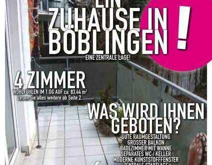 sonnige einfache 4 Zimmer-Wohnung in Böblingen
