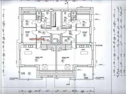 Schöne 4,5-Zimmer-Maisonettewohnung mit Balkon und moderner Einbauküche in Bretzfeld