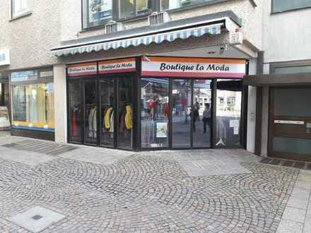Für Kapitalanleger: gut vermietete Verkaufsfläche im Zentrum von Heidenheim
