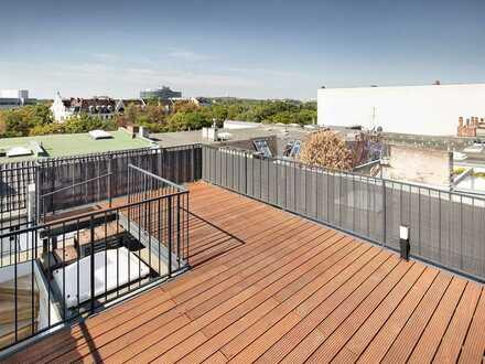 Exklusives Penthouse mit Aufdachterrasse und 360 ° Blick über die Berliner City-West