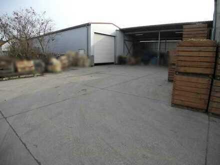 Große Lagerhalle mit Büro und sicherem Außenbereich in Frankenthal zu vermieten!