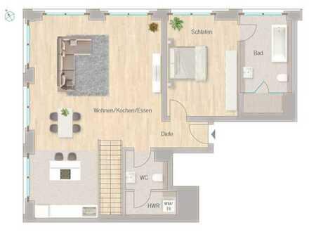 Ein Traum von einer Wohnung in Citynähe mit viel Platz