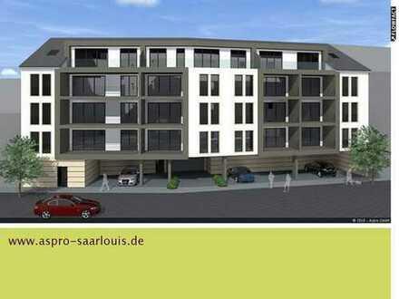 Wir bauen für Sie! Saarlouis-City! Großzügige Praxis - bzw. Bürofläche mit großer Fensterfront!