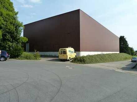 Hochregallager mit Hochregal und Stapler in Bielefeld zu vermieten